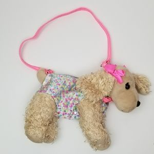 Poochie &Co girls crossbody dog bag
